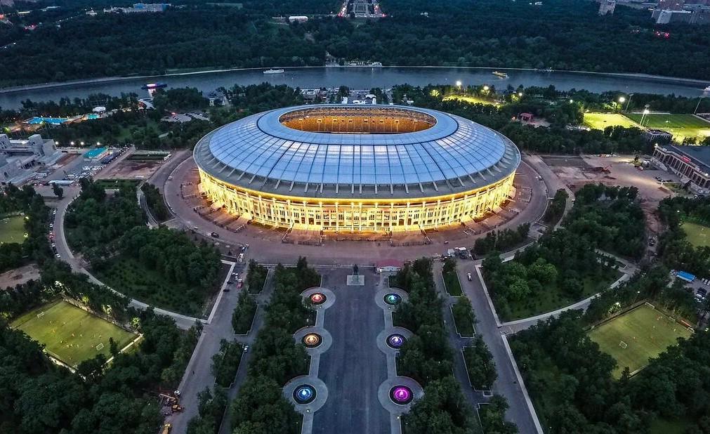 Лучшие стадионы мира: «Лужники», Москва, Россия