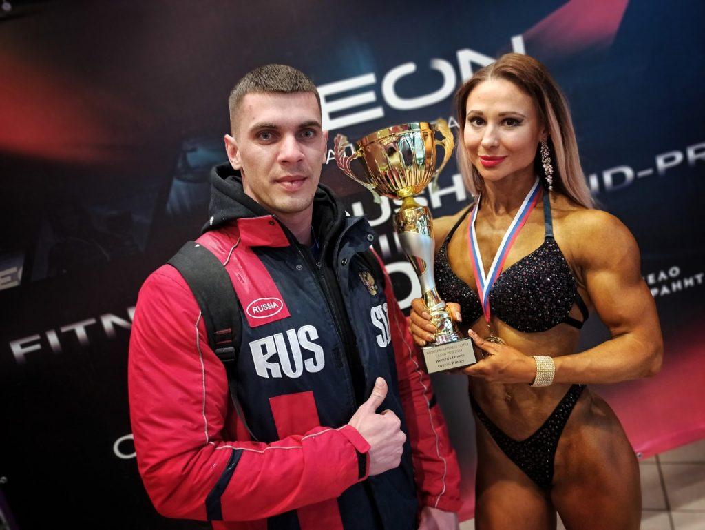 Турнир по бодибилдингу в Дмитрове – спортсмены ДНР на высоте