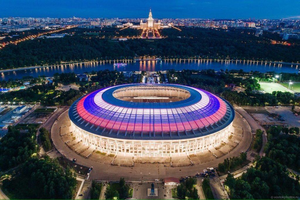 Лучшие стадионы мира: