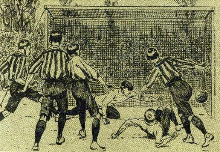 Старый-старый футбол Донецкого края: Потешный «фут-болъ» (часть 1)
