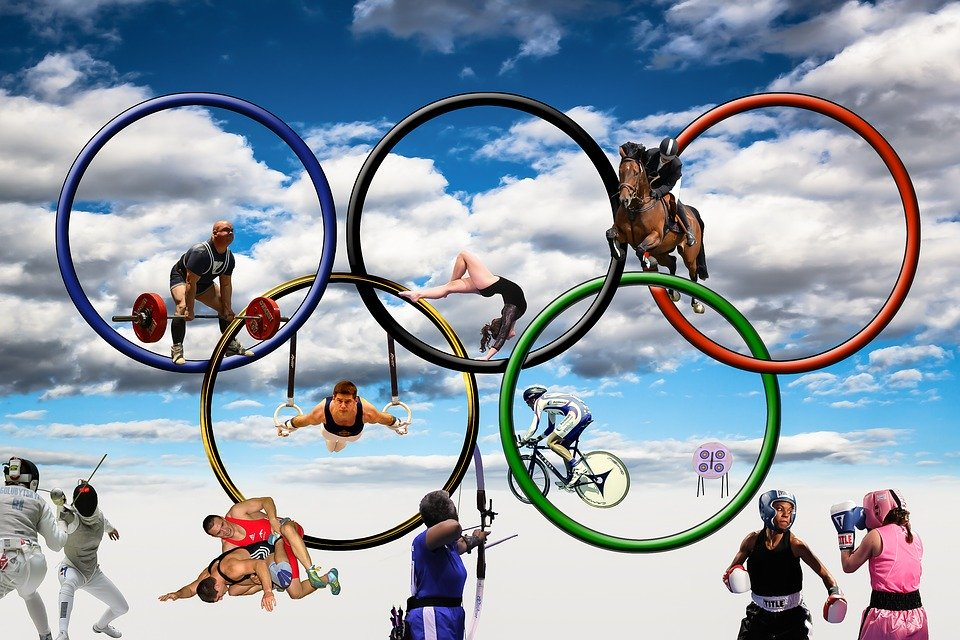 Мероприятие по случаю Международного Олимпийского дня в Донецке