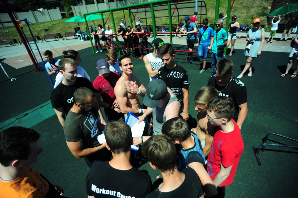27 июня - Турнир по воркауту среди молодежи - Донецк