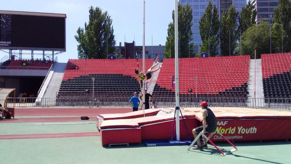 27 июня — Соревнования легкоатлетов Республики на СК «Олимпийский»