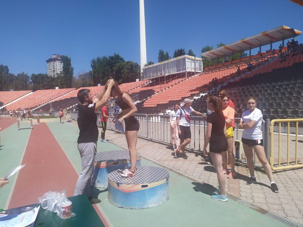 27 июня - Соревнования легкоатлетов Республики на СК