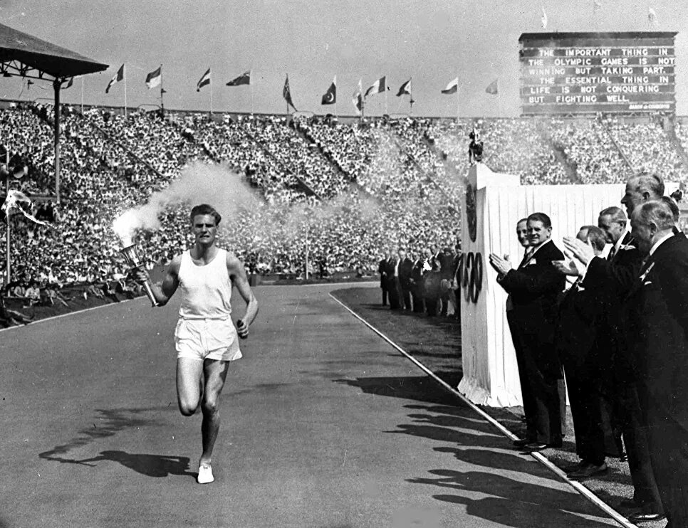 29 июля 1948 года  — Открытие XIV Олимпийских игр в Лондоне