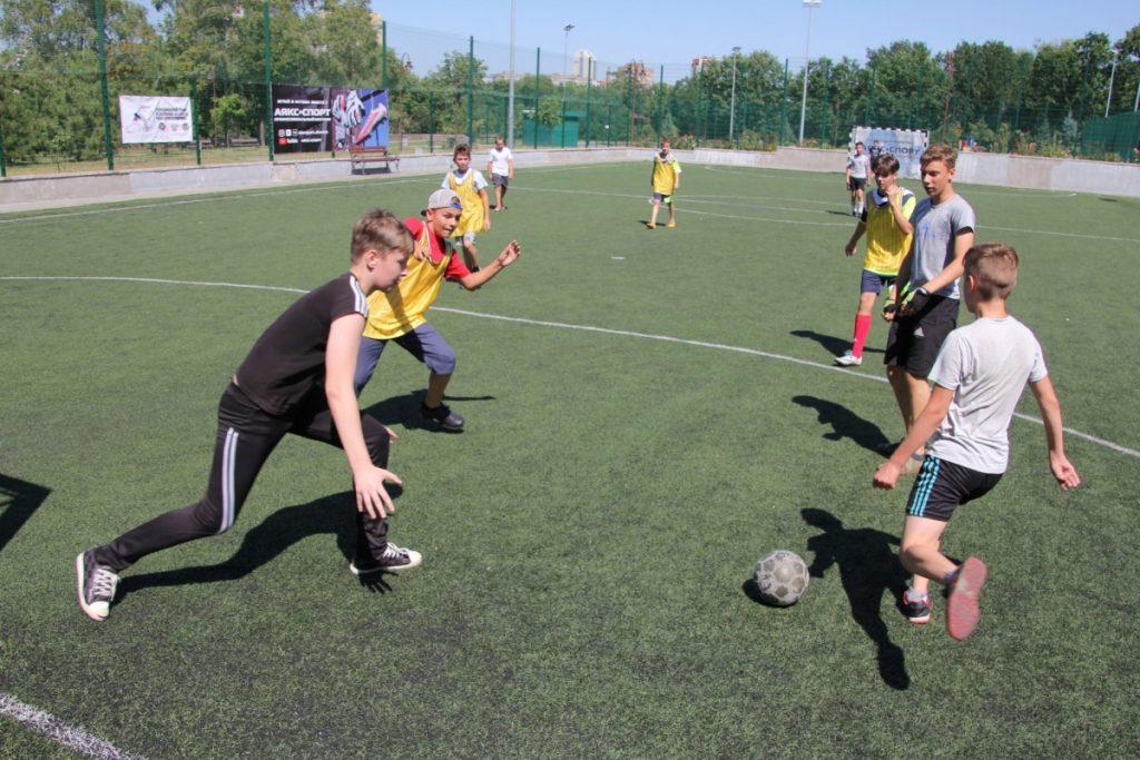 Дан старт Турниру по дворовому футболу на Кубок Главы ДНР