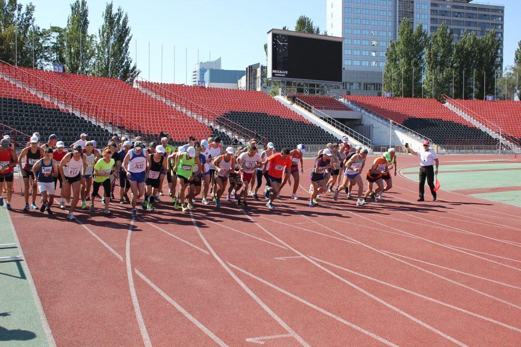 9 августа — легкоатлетический пробег памяти В.А. Химченко на РСК «Олимпийский»