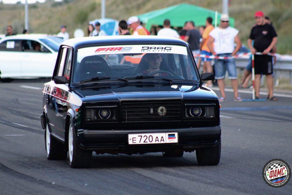 Первый этап открытого чемпионата ДНР по автоспорту в дисциплине «Драг-рейсинг».