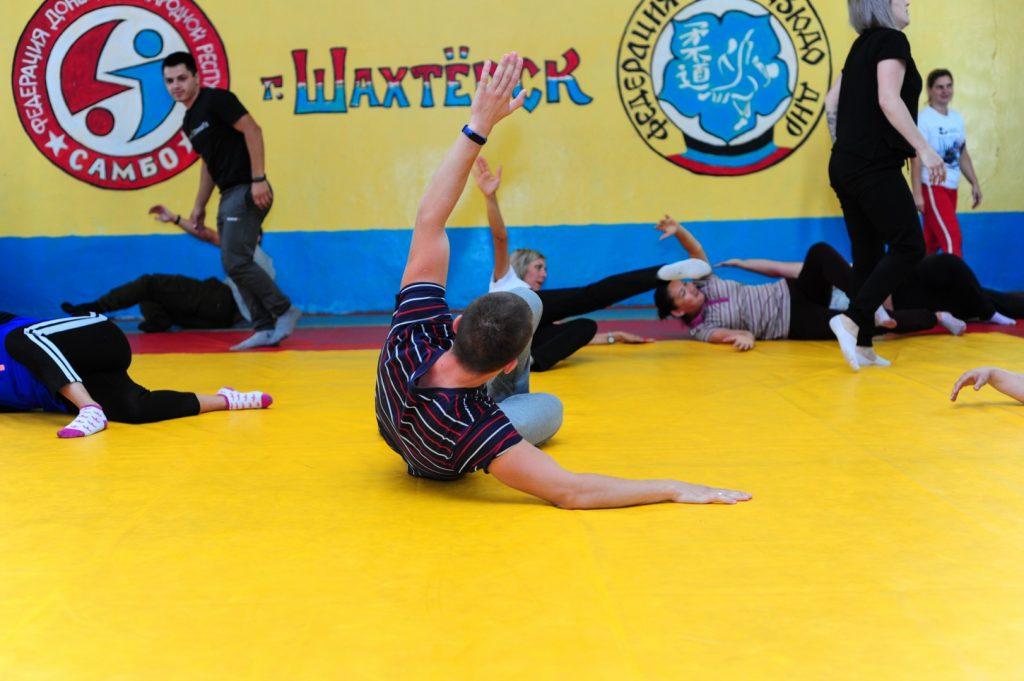 Дзюдо в школу: в Донецке провели первый обучающий семинар для преподавателей физкультуры
