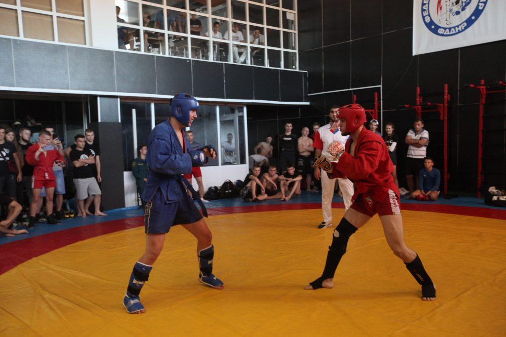 Самбо — Сентябрь — РСК «Олимпийский»