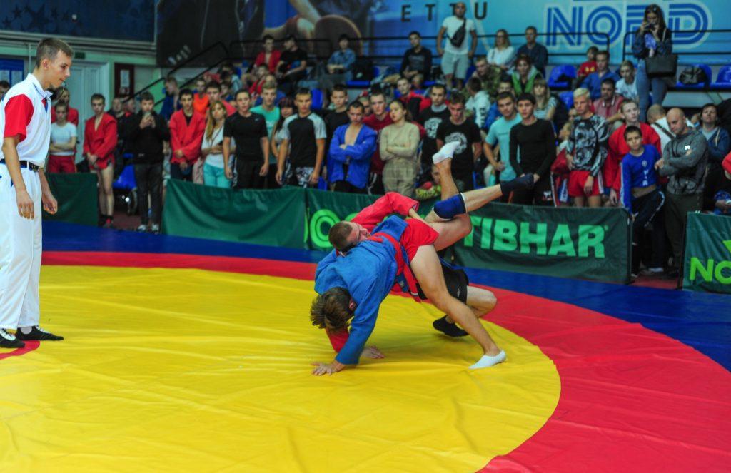 26 сентября - Самбо в Донецке