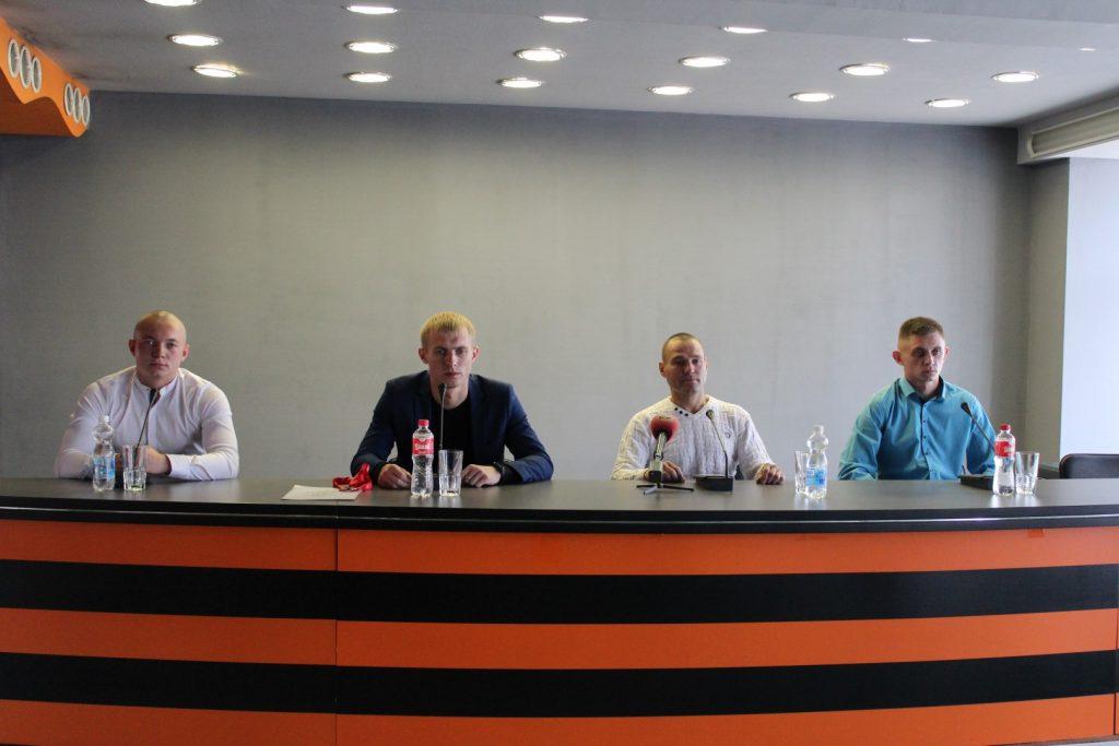 Пресс-конференция: команда ДНР -  победитель Всероссийского Чемпионата «Гонка Героев»!