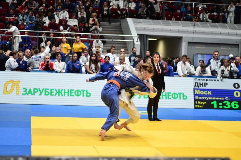 Сборная команда ДНР по дзюдо завоевала три медали на турнире памяти Анатолия Рахлина