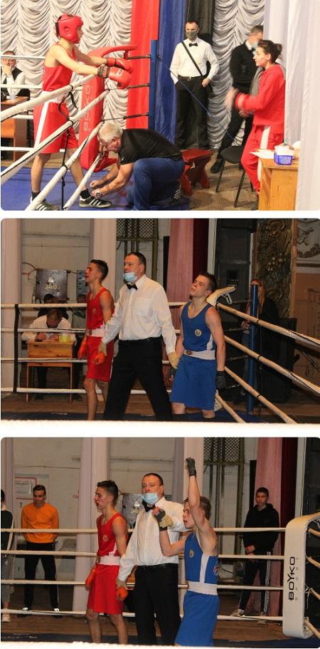 Турнир по боксу памяти семьи Булаевых - Горловка