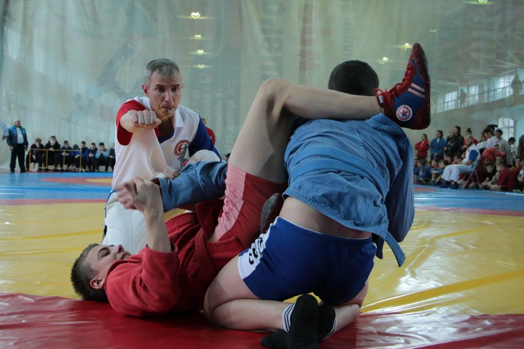 Республиканские соревнования по борьбе самбо и боевому самбо - ДНР - Донецк