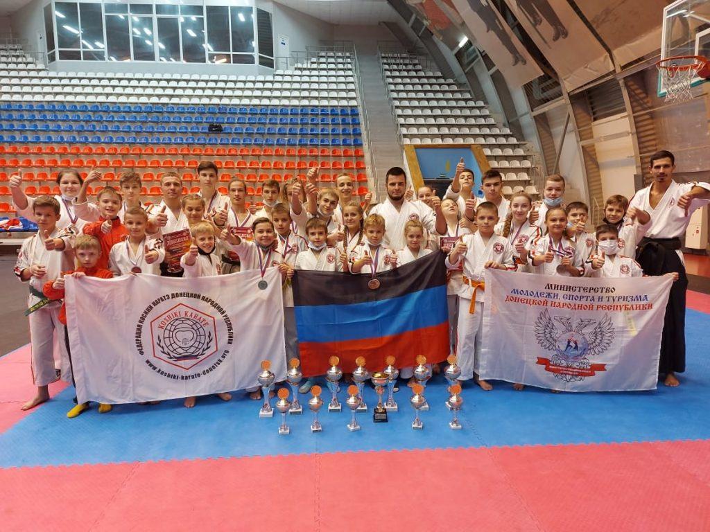 43 медали на Кубке России — Результат сборной ДНР по косики карате