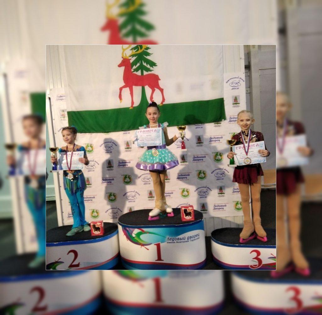 7 медалей — Результаты юных фигуристок ДНР на соревнованиях в России