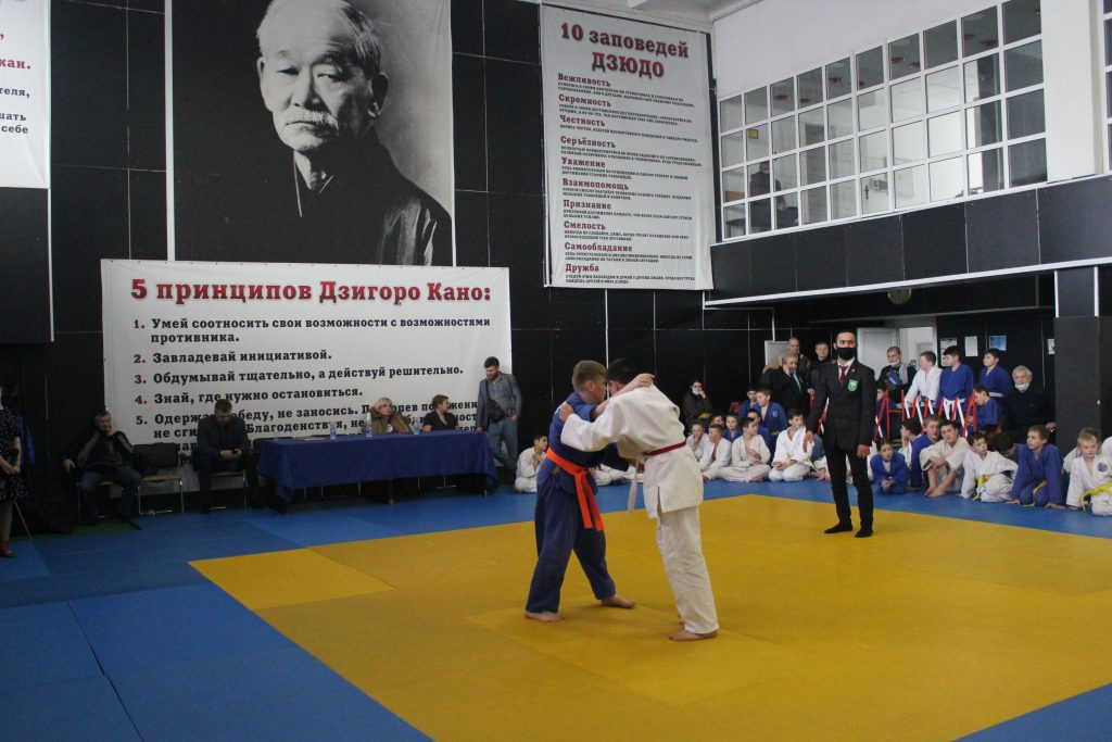 16 января — Как проходил Турнир по дзюдо в честь Евгения Подолякина — РСК «Олимпийский»