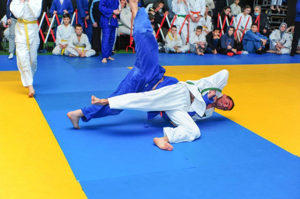 13 февраля - Соревнования по дзюдо памяти В.М. Прудникова - СК