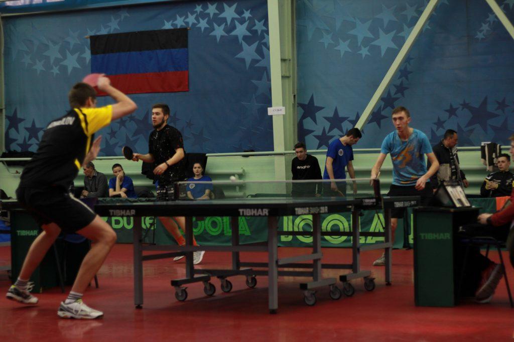 17-19 февраля - Соревнования по настольному теннису среди студентов - СК