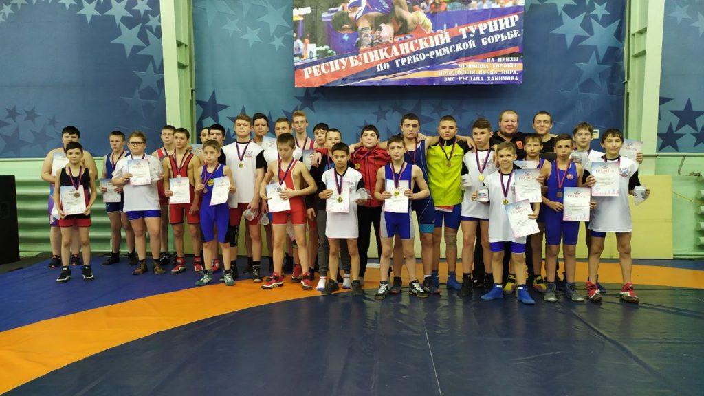 6-7 февраля — Соревнования по греко-римской борьбе — Донецк