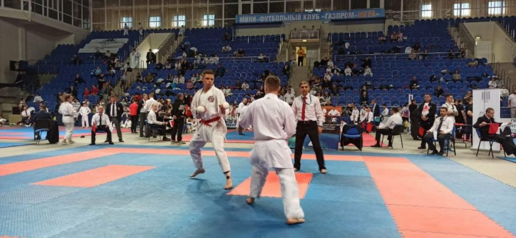 I место - Результат сборной  ДНР по каратэ на соревнованиях в России