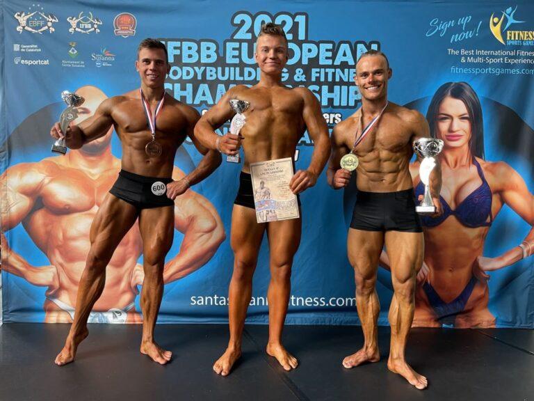 Бодибилдер из Донецка взял бронзу на чемпионате Европы в испанском Санта-Сусанна