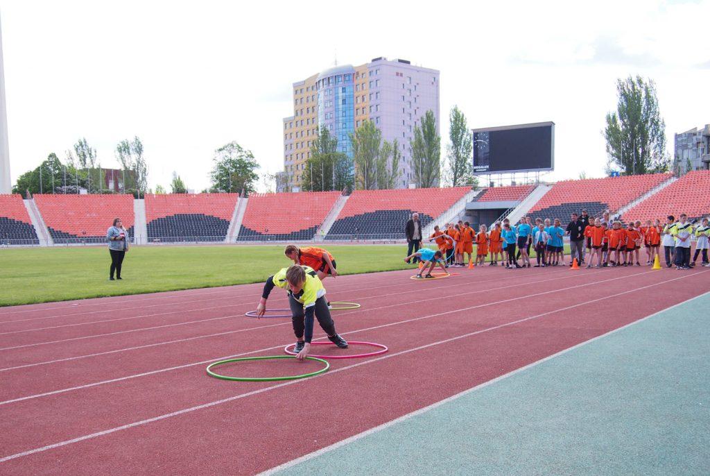 20 мая — «Старты надежды» среди школ-интернатов Республики — СК «Олимпийский»
