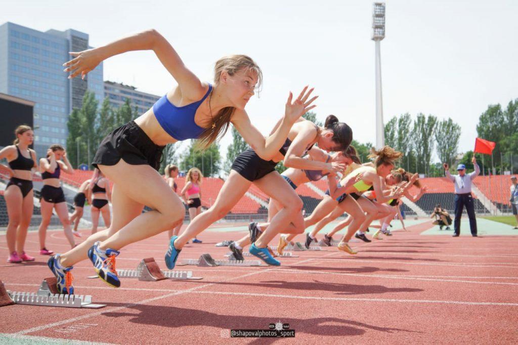 26 июня — Соревнования по легкой атлетике — РСК «Олимпийский»