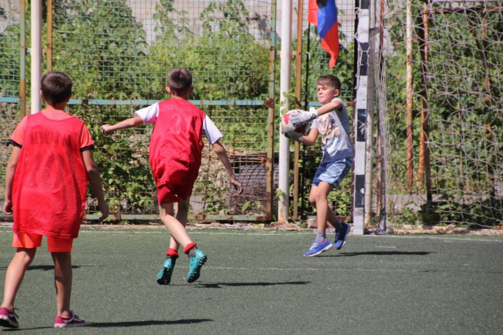 2 августа — Стартует второй турнир по дворовому футболу на Кубок Главы ДНР
