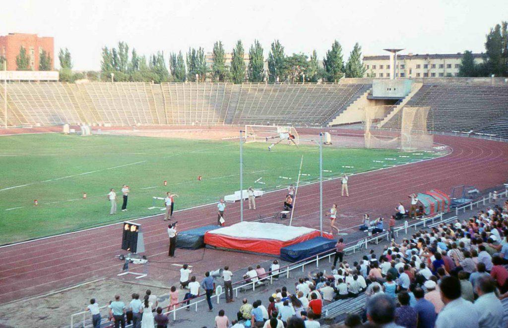 1985: полуфинал Кубка СССР по легкой атлетике — стадион «Локомотив»