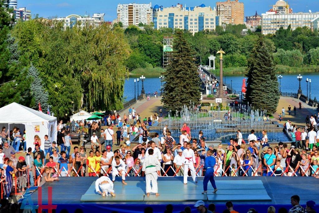 13 августа — Ярмарка спорта — Донецк, ЦПКиО им. Щербакова