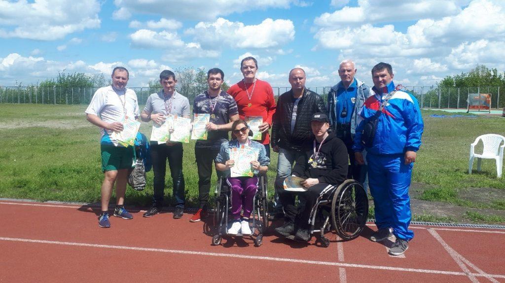 20 мая - Открытый чемпионат ДНР по лёгкой атлетике среди спортсменов с ограниченными физическими возможностями - МК на ул. Байдукова
