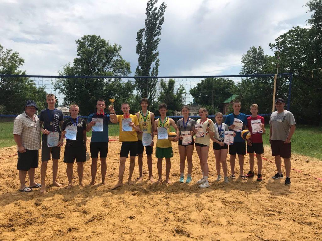 20 июня - Открытый Республиканский турнир по пляжному волейболу среди сборных команд ДНР