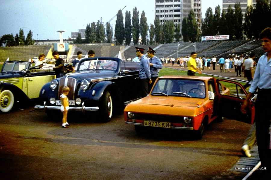 Далекий 1986: стадион