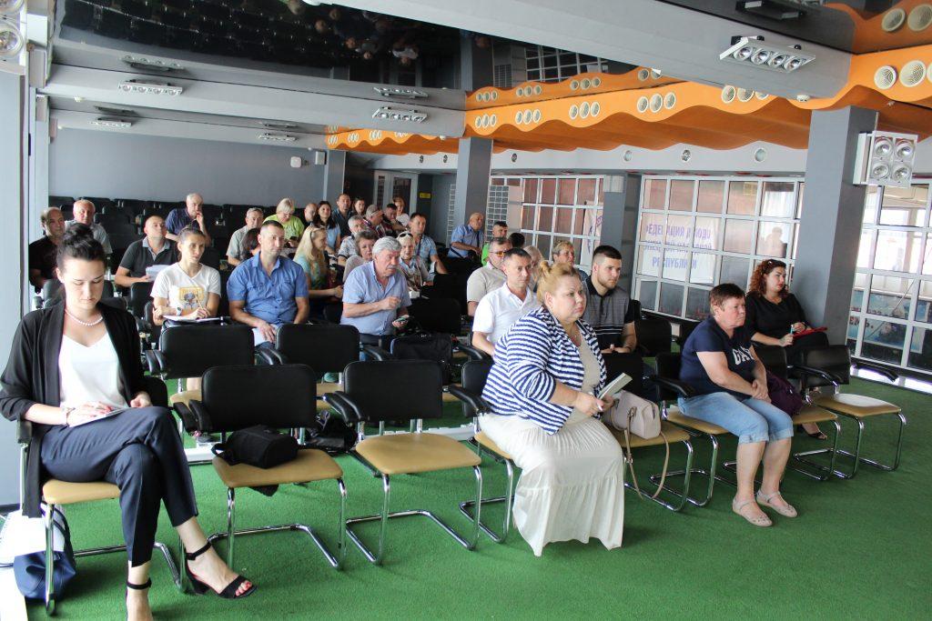 23 июля - Рабочее совещание с федерациями по видам спорта и спортивными школами ДНР - СК