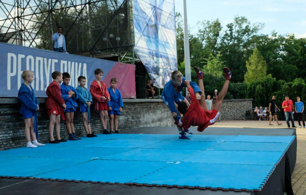 22 августа - Ярмарка спорта -  ЦПКиО им. А.С. Щербакова, г. Донецк