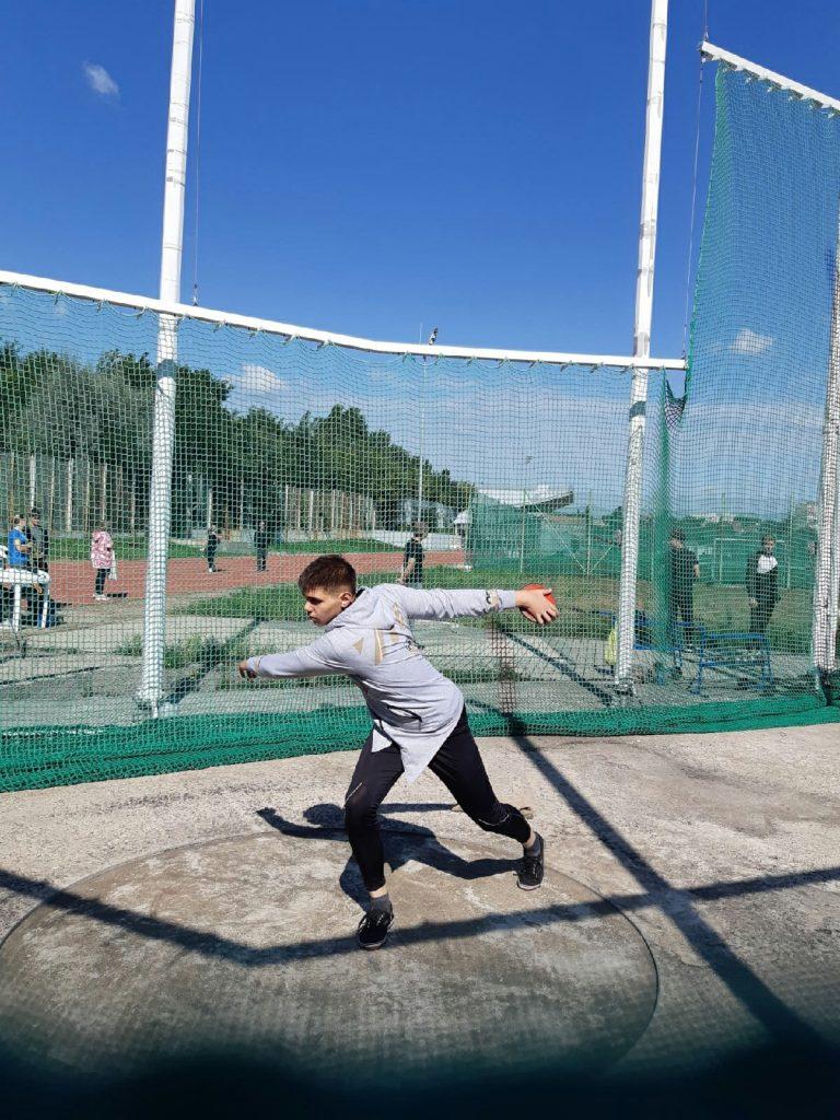 04 сентября - Открытое первенство ДНР по легкой атлетике серии